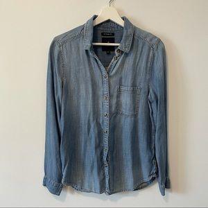 AEO Boyfriend Fit Denim Shirt